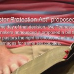 "TN ""Pastor Protection Act"" proposed after SCOTUS ruling. By WJHL"